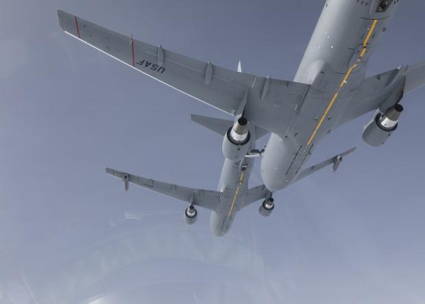 Танкеры KC-46A дозаправили друг друга