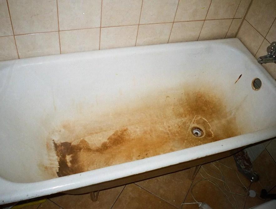 """Очистит даже такую """"убитую"""" ванну"""