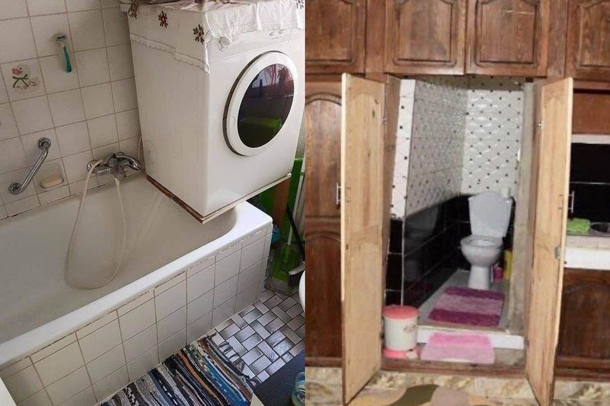 Когда руки растут не из того места: 10+ примеров ужасного дизайна квартир