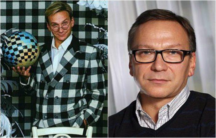 Известные российские телеведущие тогда и сейчас