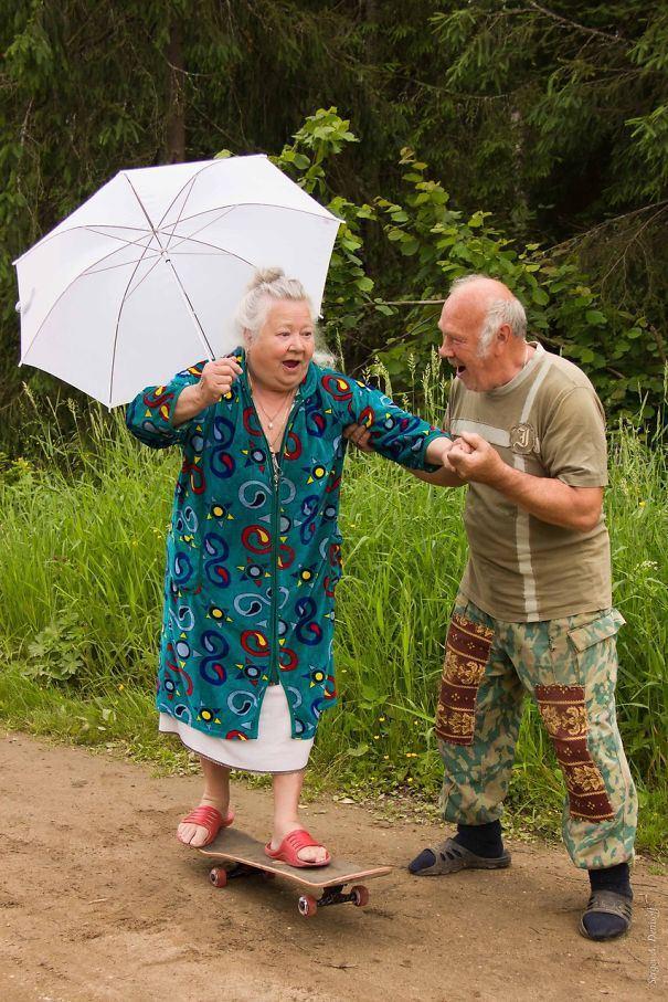 фото про веселых старичков пополам два