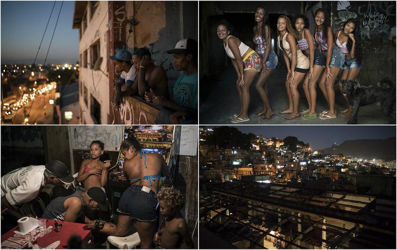 Нищие бразильцы живут в забр…