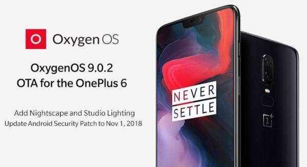 OnePlus выпустила прошивку OxygenOS 9.0.2