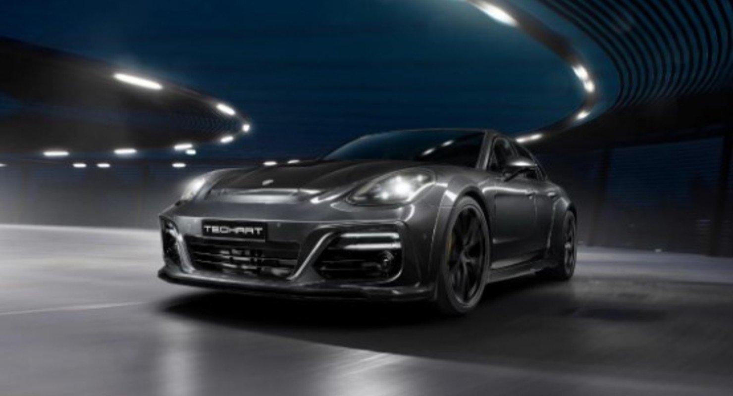 Porsche Panamera от тюнинг-ателье TechArt стал более мощным Автомобили