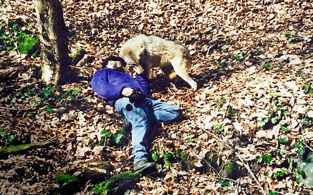 Профессор-вервольф: история грузинского ученого, который два года жил и охотился с волками животные,интересные люди,интересные факты,история,мир,наука,природа,путешествия,факты,фотография,шок,экстремальный туризм