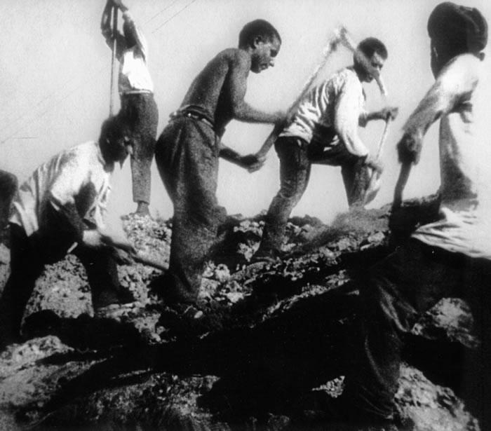 Суровые условия в исправительно-трудовых колониях ГУЛАГа
