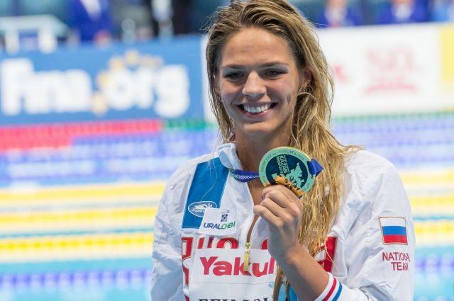 Пловчиха Ефимова подала иск в CAS на отстранение от участия в ОИ