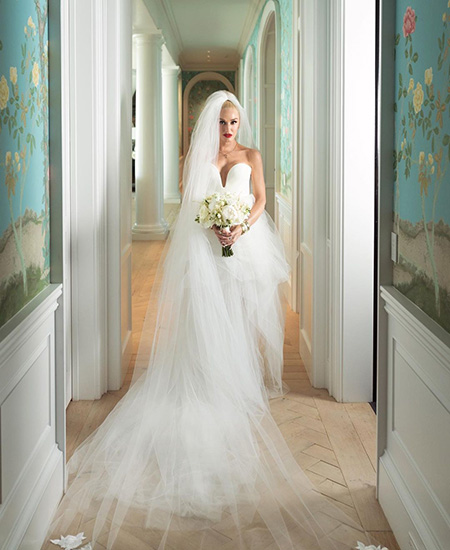 Гвен Стефани опубликовала новые снимки со свадьбы с Блейком Шелтоном Звездные пары