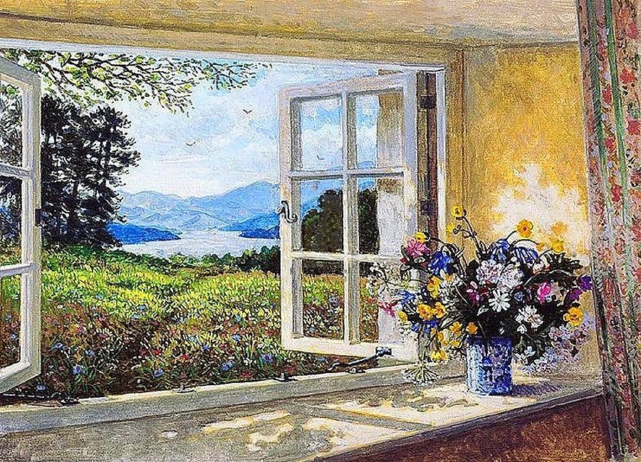 Картинки распахнутое окно