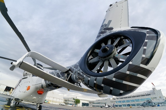 Airbus отмечает 50 лет с начала эксплуатации легендарного рулевого винта Fenestron