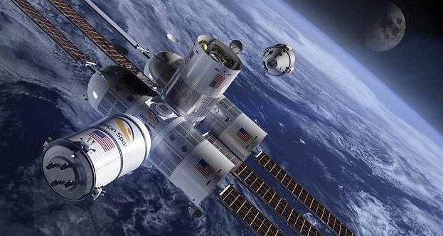 Пора бронировать места в космическом отеле! Отель, космическая станция, космические туристы, космос, космос для всех, номер с видом на землю, отдых в невесомости, технологии будущего