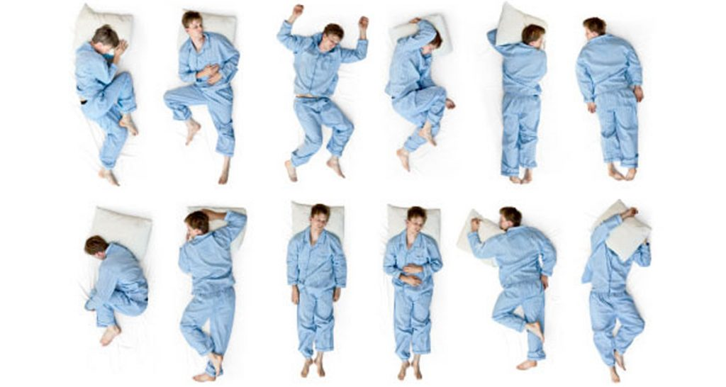 Достоинства и недостатки сна в различных позах