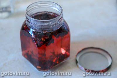 Лимонад из клубники и каркаде, Шаг 02