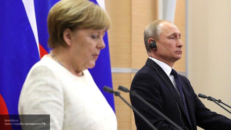 Путин обсудил с Меркель по телефону обсудили организацию нормандского саммита
