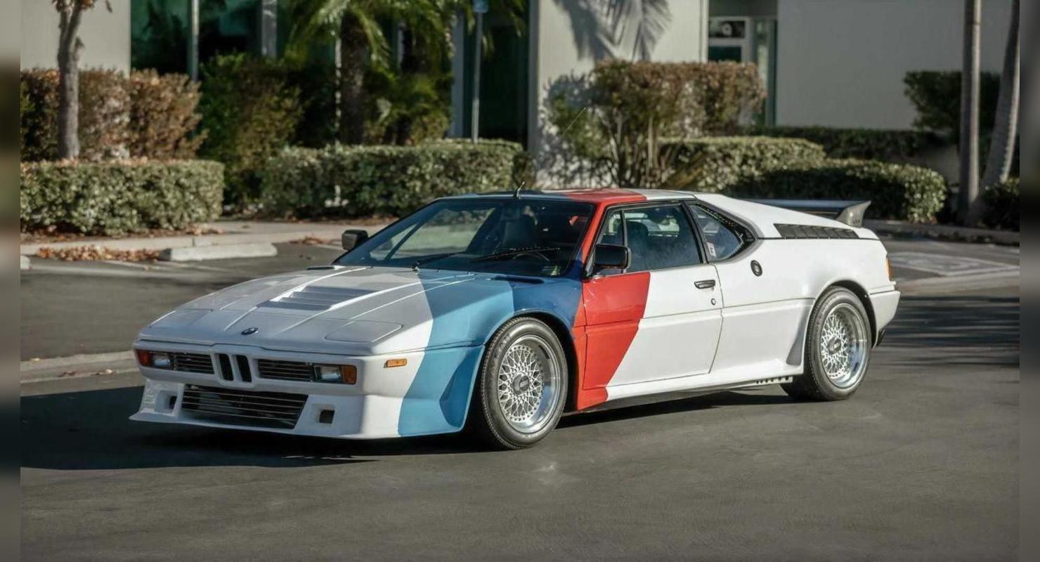 На аукционе будет продана модель BMW M1 Пола Уокера Автомобили