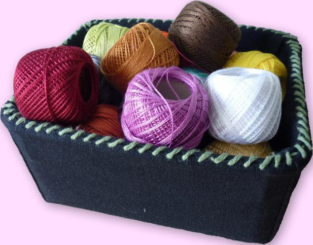 О пользе шитья: обшиваем пластиковые коробки