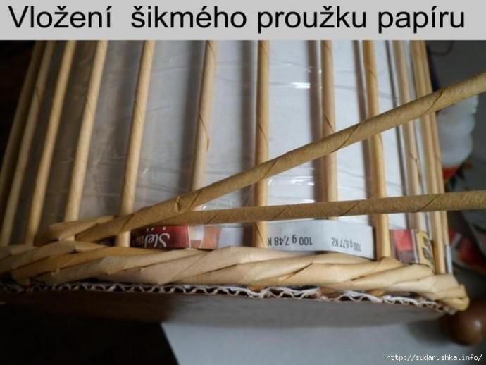 Мастер-класс по плетению оригинальной корзинки с редкими ячейками мастер-класс,рукоделие