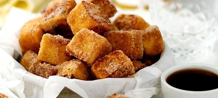 Французские тосты с корицей.  Фото: cookjournal.ru.