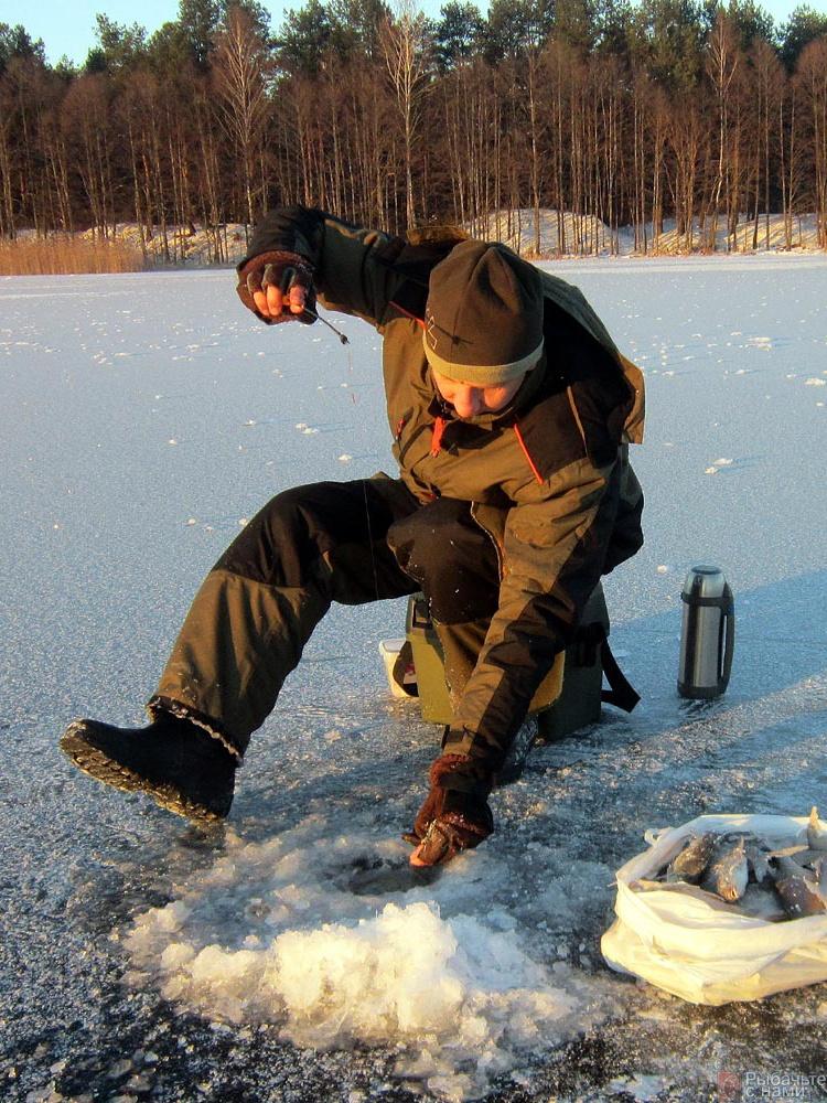 Зимняя рыбацкая кухня