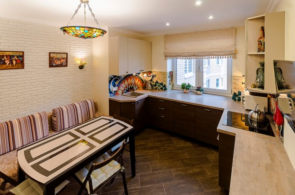 Реализованный проект: квартира «Ореховый капучино»