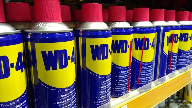 Немного о WD-40