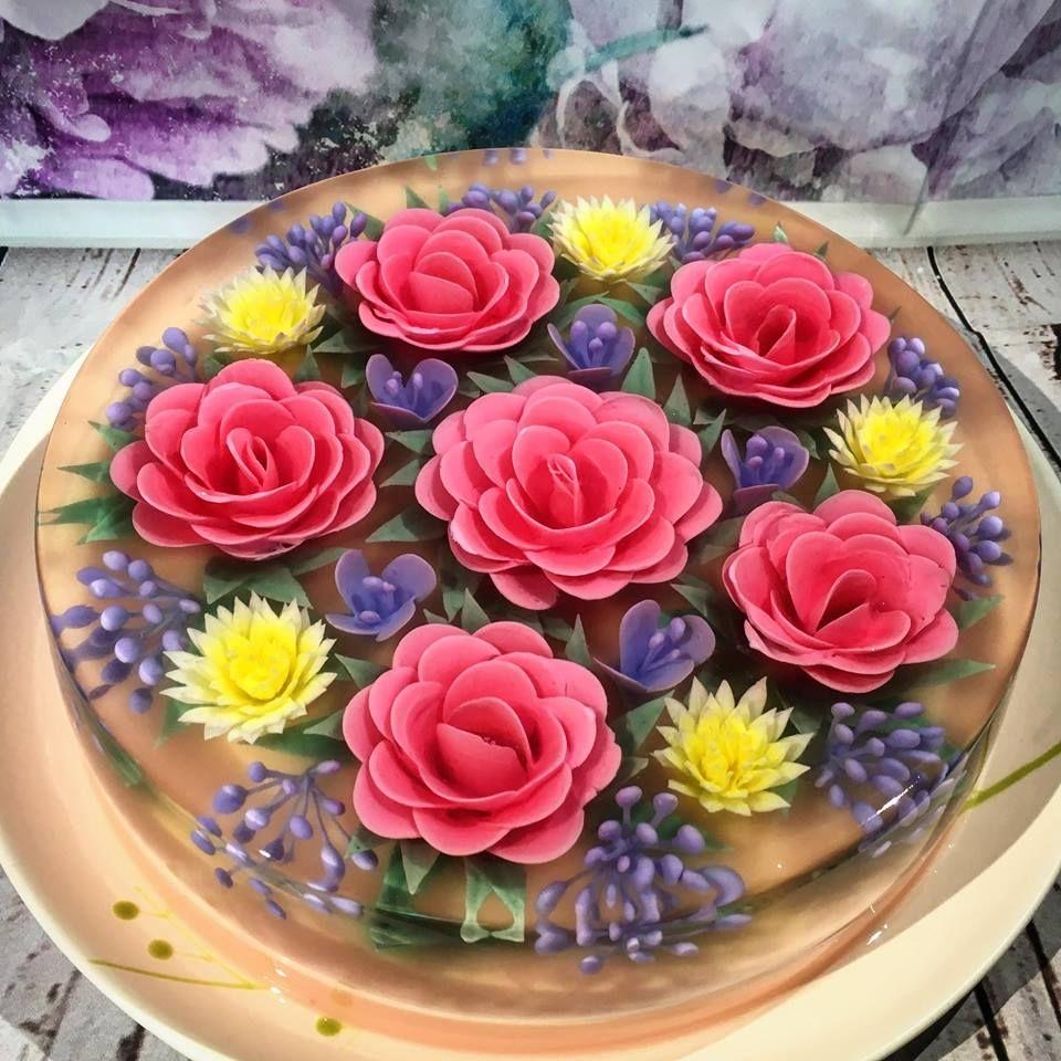 Новый тренд - желейные торты