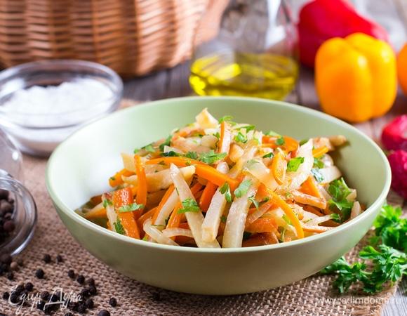 Вкусные и полезные салаты с редькой