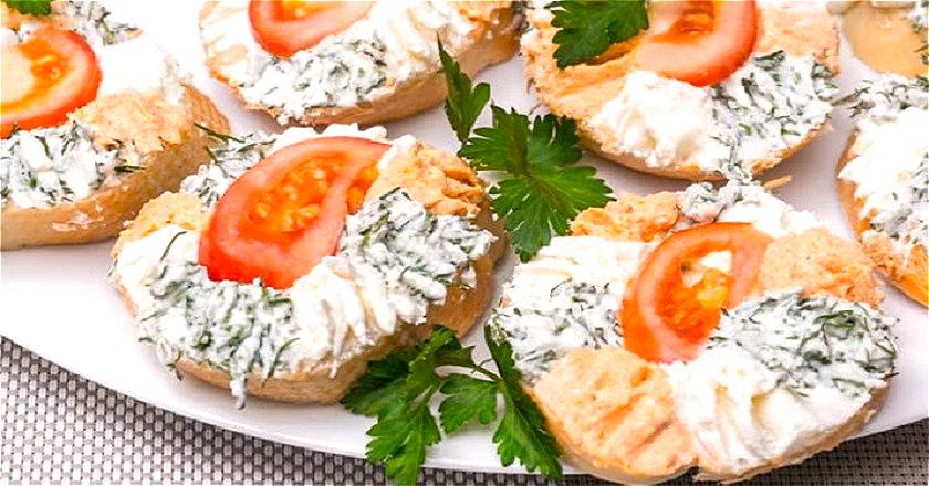 Красивые бутерброды на праздничный стол