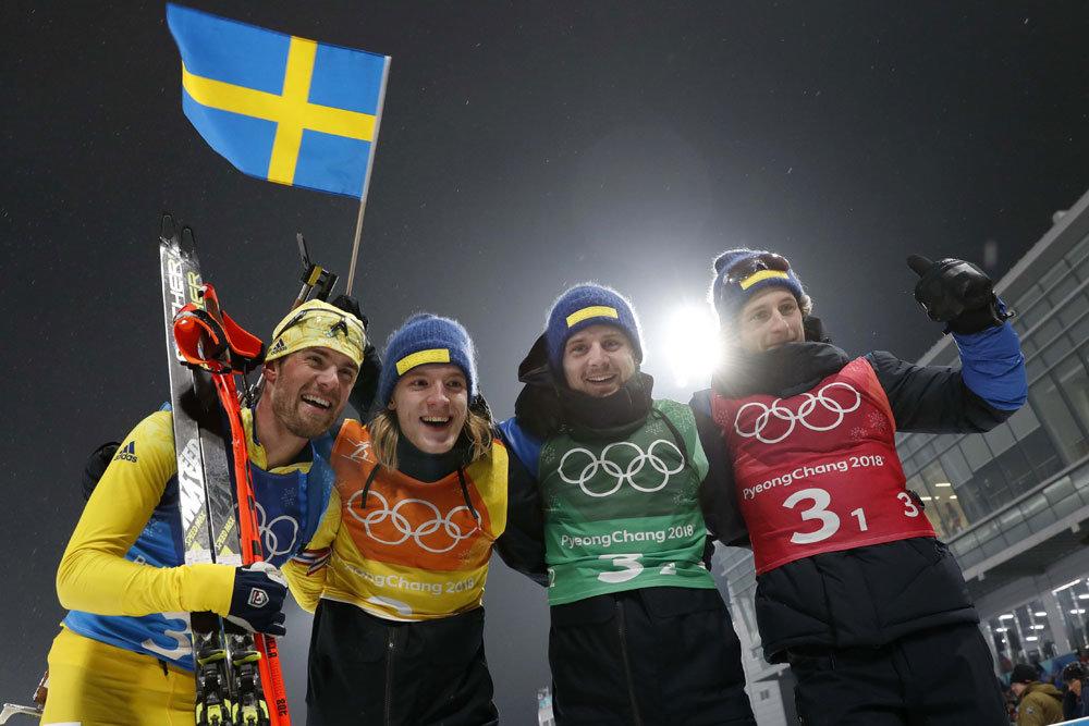 Биатлонисты Швеции сенсацион…