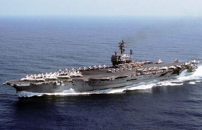 Авианосец «John F. Kennedy».