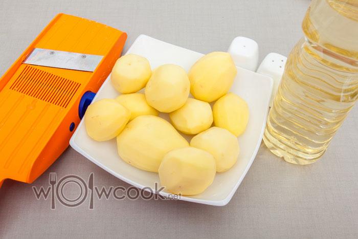 ингредиенты для картофеля пай