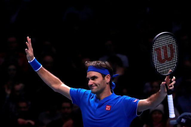 Федерер выиграл матч с Тимом на итоговом турнире АТР в Лондоне