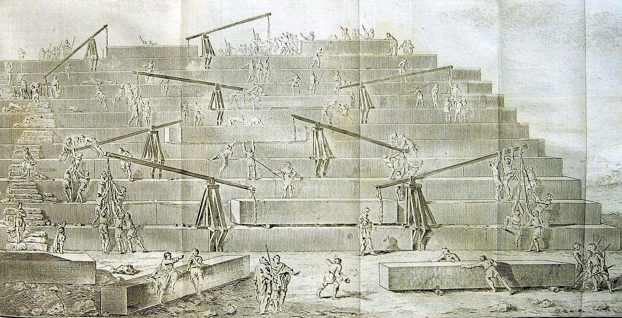 Тайны строительства пирамиды Хеопса