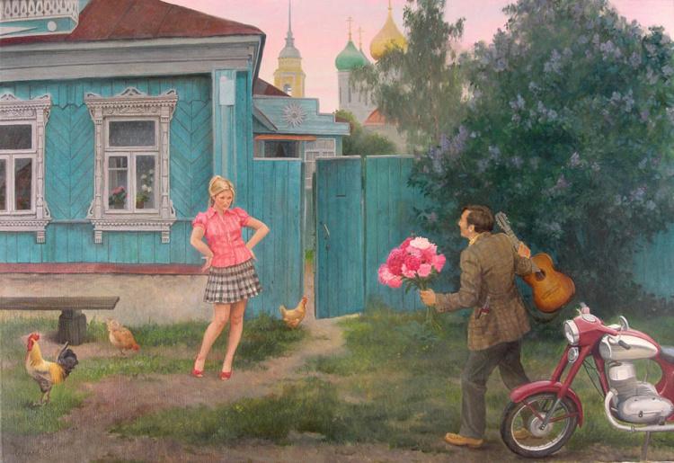 художник Филипп Кубарев картины – 07