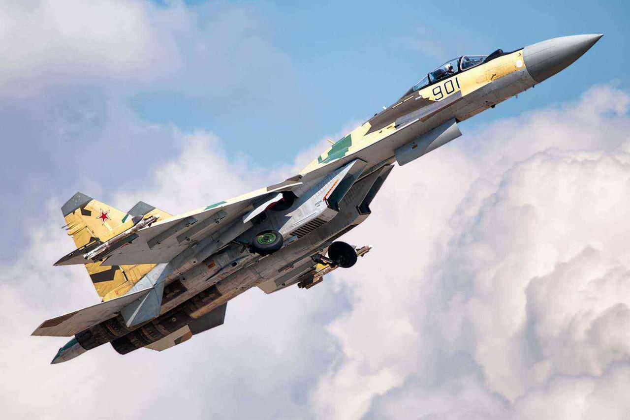 Су-35: умный, современный, смертоносный