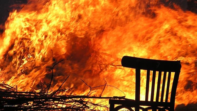 На северо-востоке Москвы произошел пожар в жилом доме