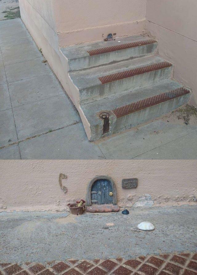 Эта лестница ведёт в крошечный дом в мире, вещи, подборка, познавательно, удивительно