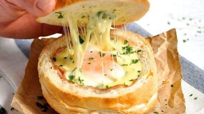 Вкусный и быстрый завтрак: Булочка с секретом.  Фото: intex-press.by.