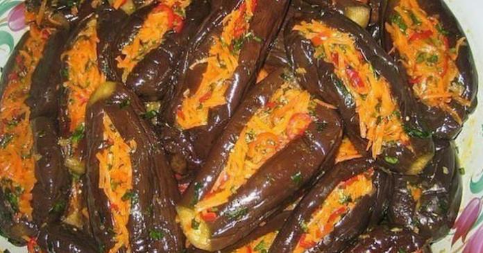 «Манзаны» — фаршированные баклажаны по-гречески