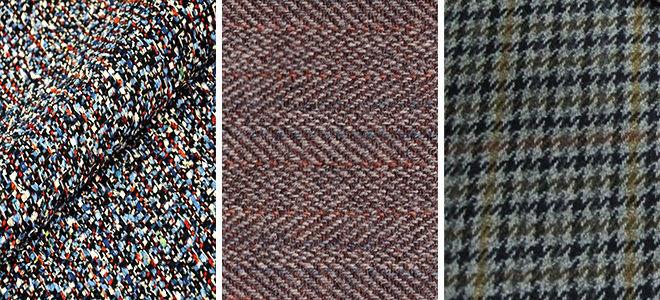 Ткань твид разны рисунок фото