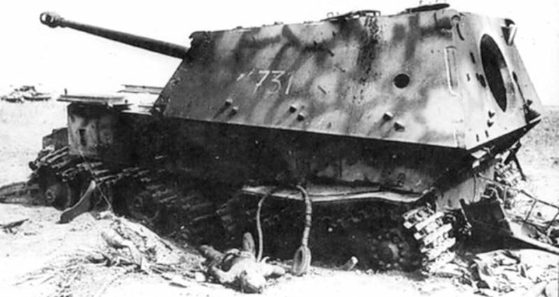 СУ-122 против «Фердинанда»: …