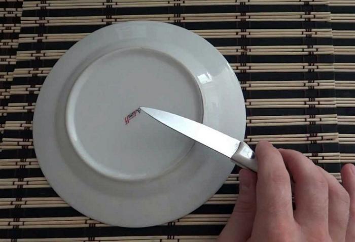 Простой способ заточки ножей.   Фото: heaclub.ru.