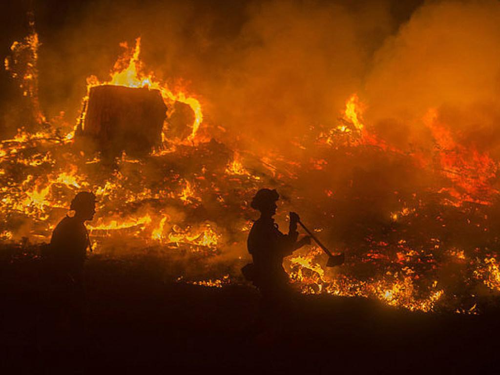 Адский пожар: в Москве полых…