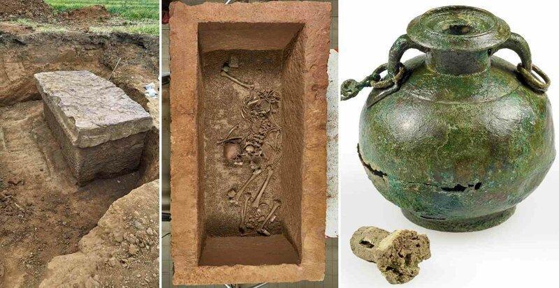 Загадка саркофага молодой женщины времен Римской империи. Расследование Лысого Камрада археология, загадки, история, расследование