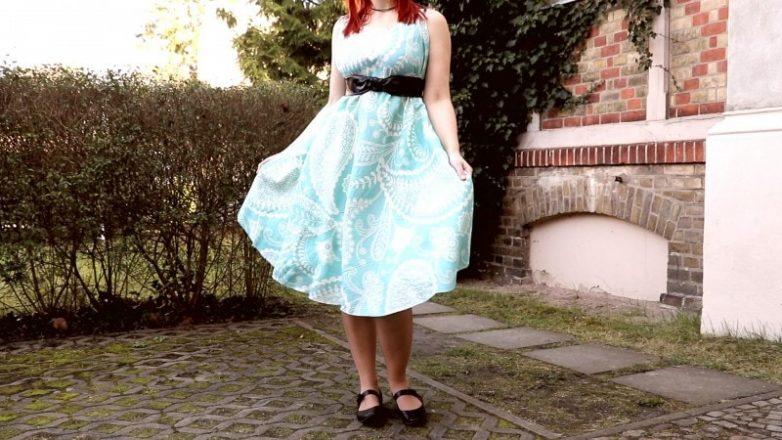 Инструкция по созданию платья без ниток и иголки одежда,платье без иголки,рукоделие,своими руками