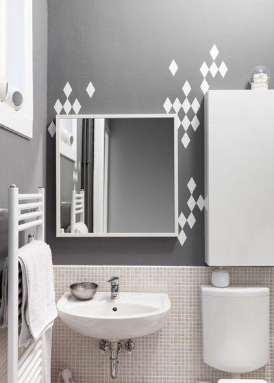 Скандинавский Ванная комната Houzzbesuch: Stefanie Luxat