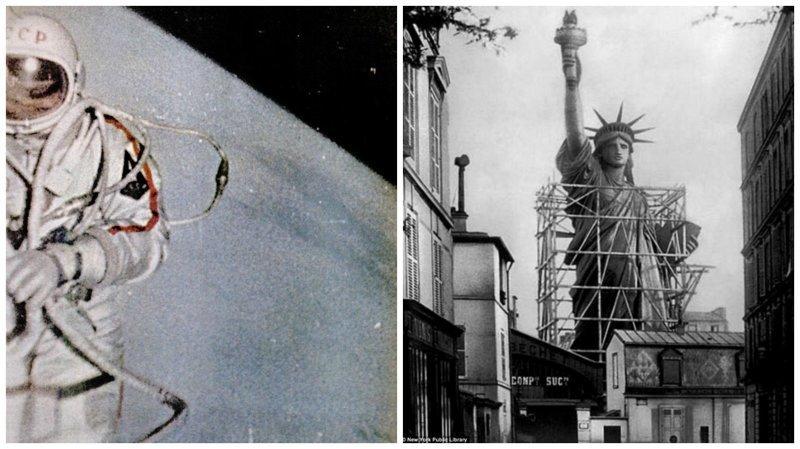 Исторические фотографии, от которых просто захватывает дух