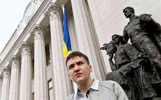 Савченко подтвердила планы стать президентом Украины