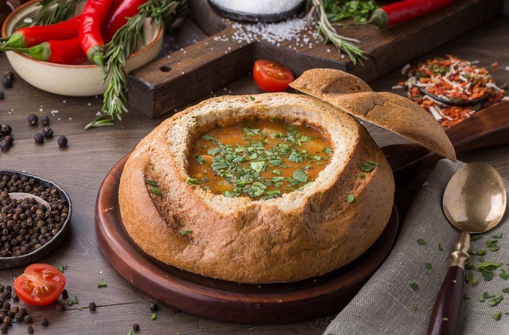 История супчика в хлебе готовим дома,домашний досуг
