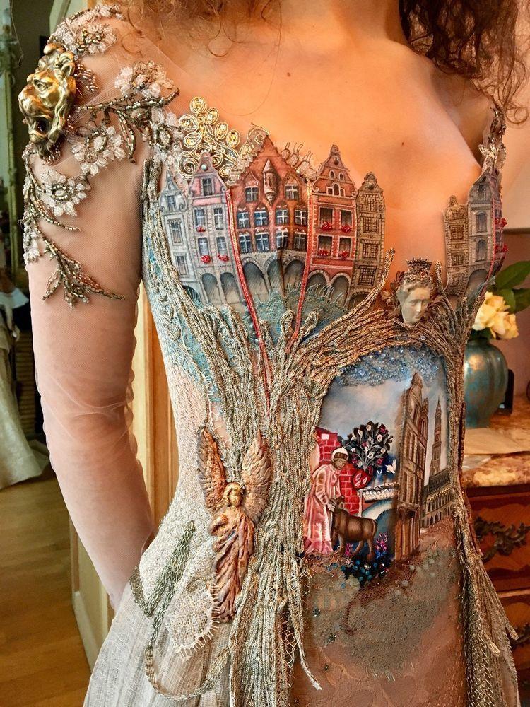 Француженка Sylvie Facon создает платья, которые поражают даже видавших виды людей, фото № 8